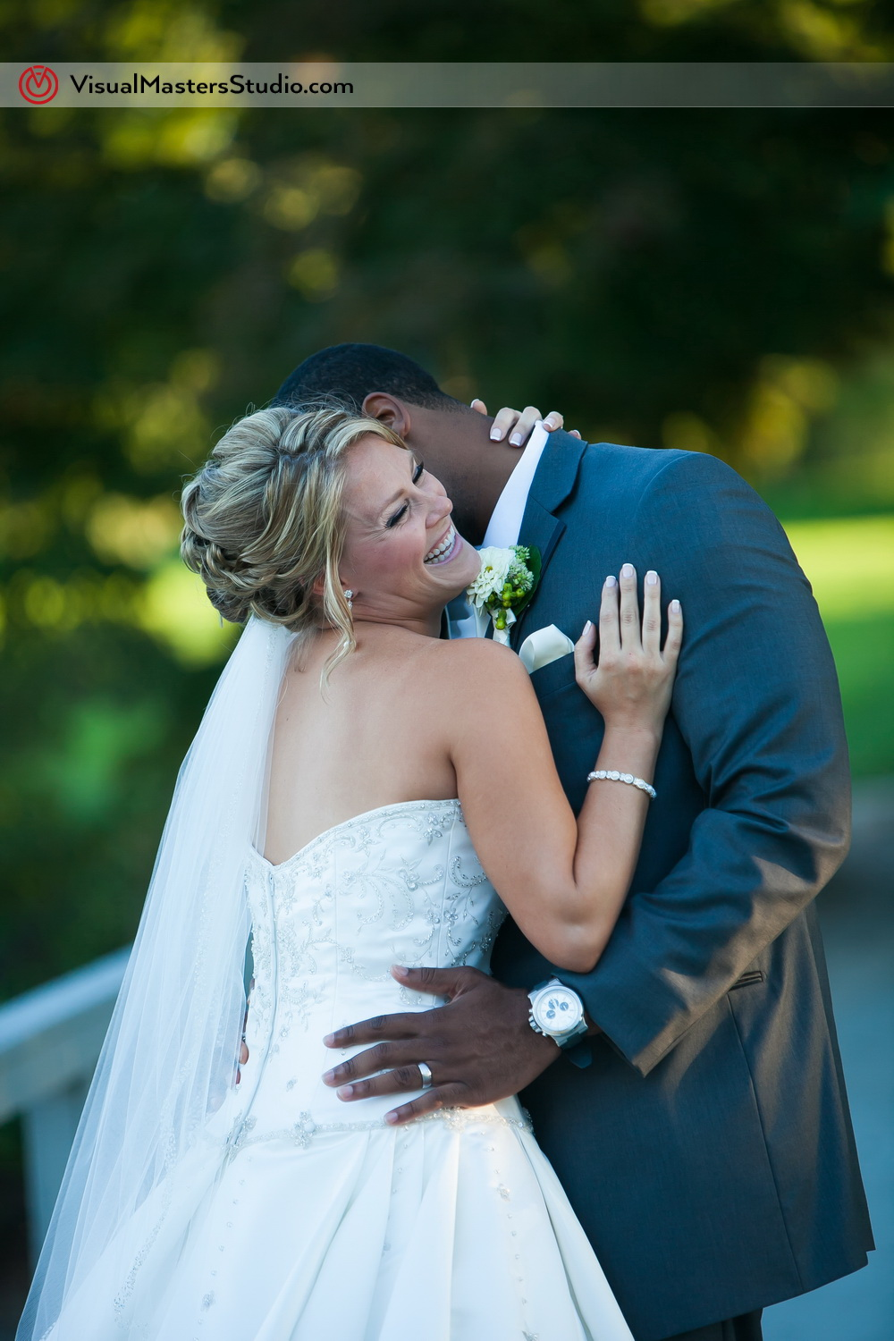 Bride and Groom Ideas  at Preakness Hills Country Club by Visual Masters