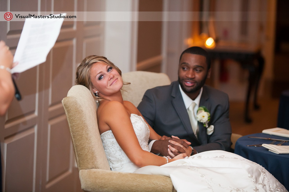 Wedding Speeches  at Preakness Hills Country Club by Visual Masters