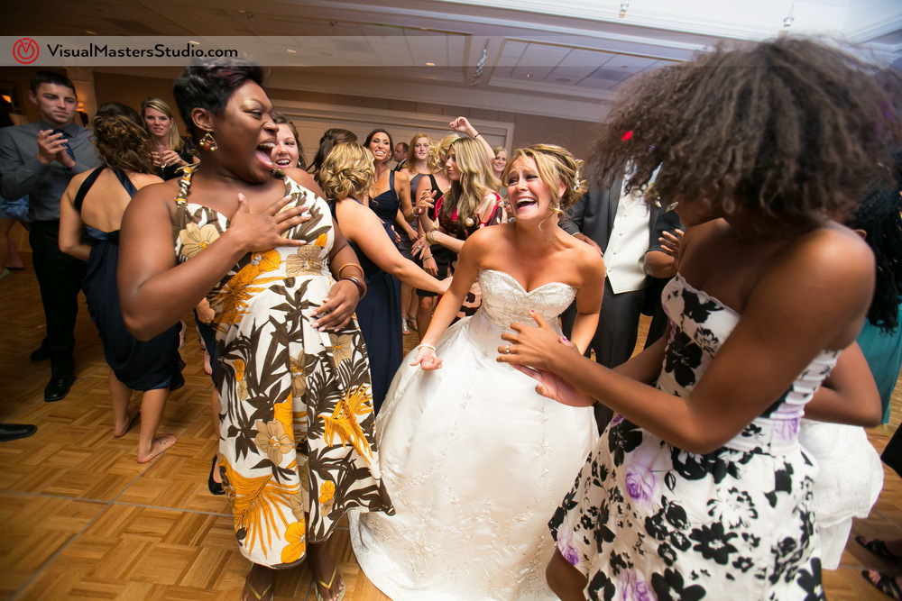 Bride Dancing at Preakness Hills Country Club by Visual Masters