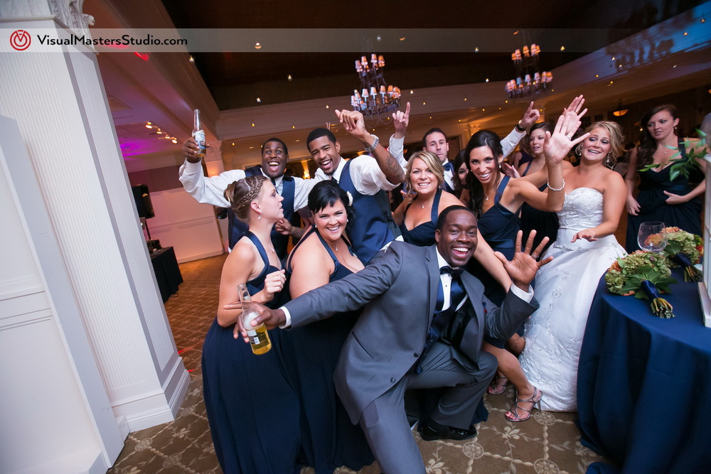 Bridal Party at Preakness Hills Country Club by Visual Masters