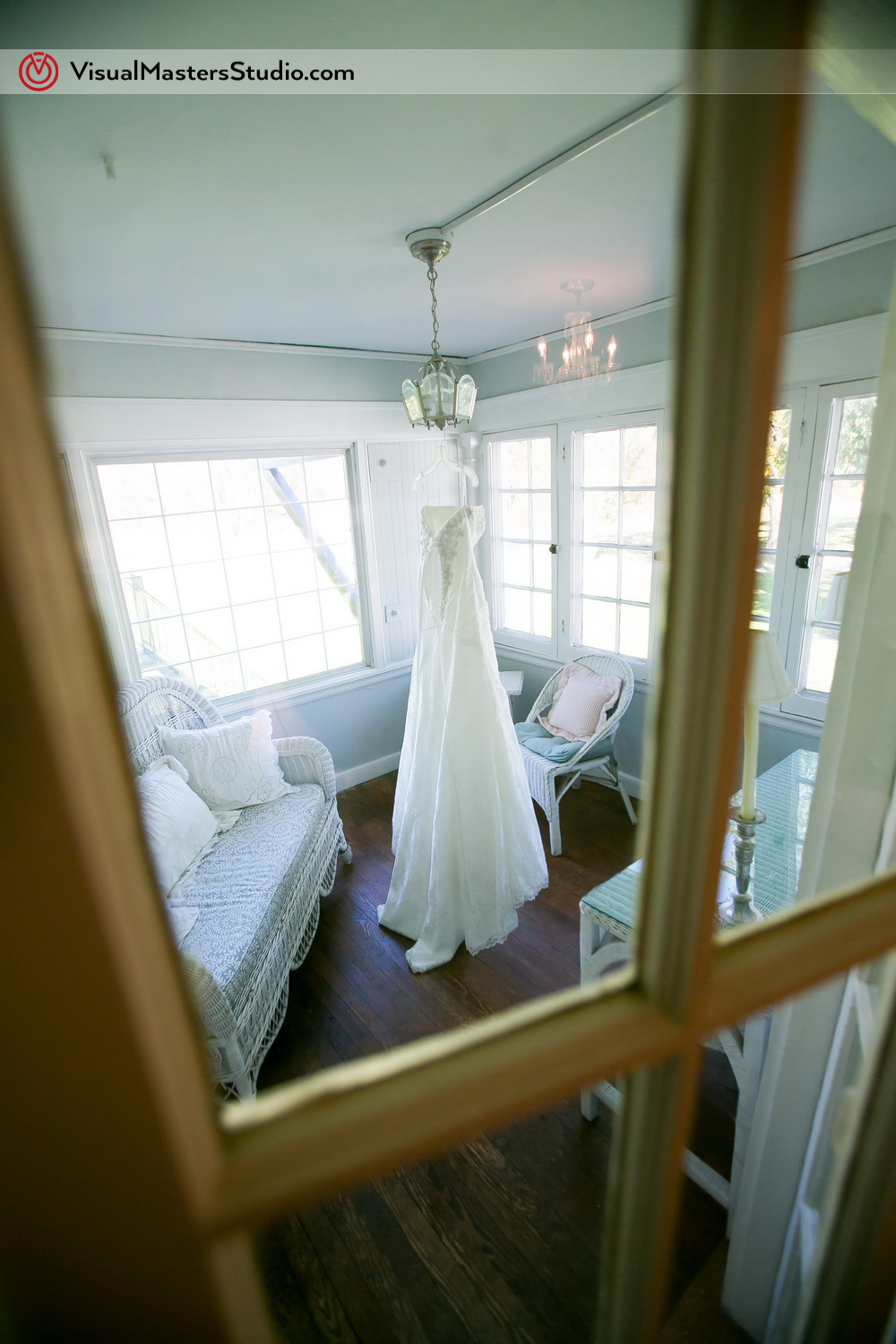 Wedding Dress The Inn at Fernbrook Farms by Visual Masters