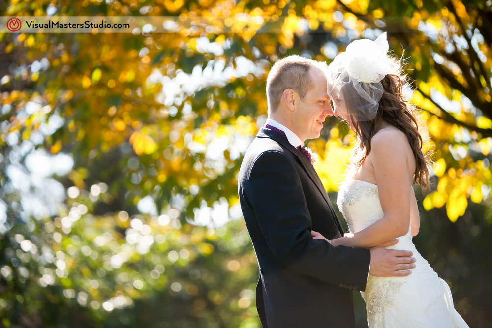 Autumn Wedding Photography by Visual Masters