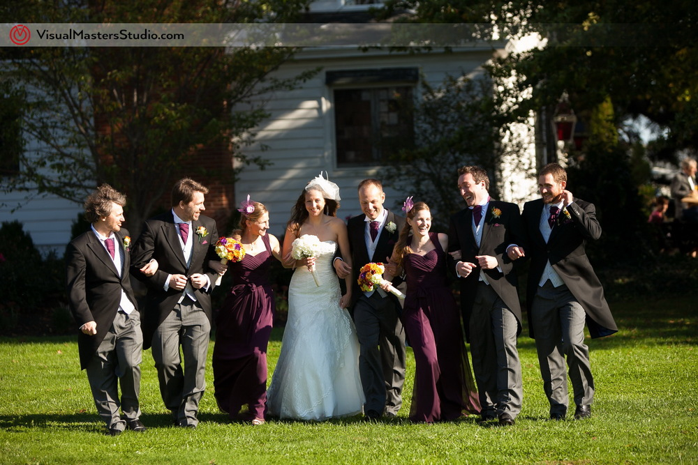Wedding Party The Inn at Fernbrook Farms by Visual Masters