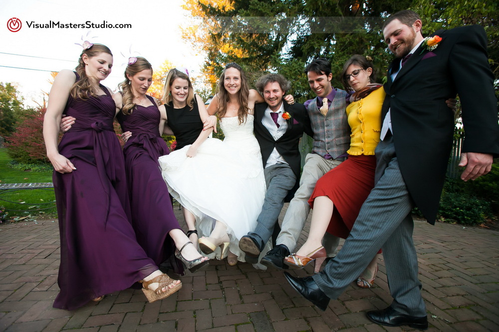 Wedding Party Fun by Visual Masters