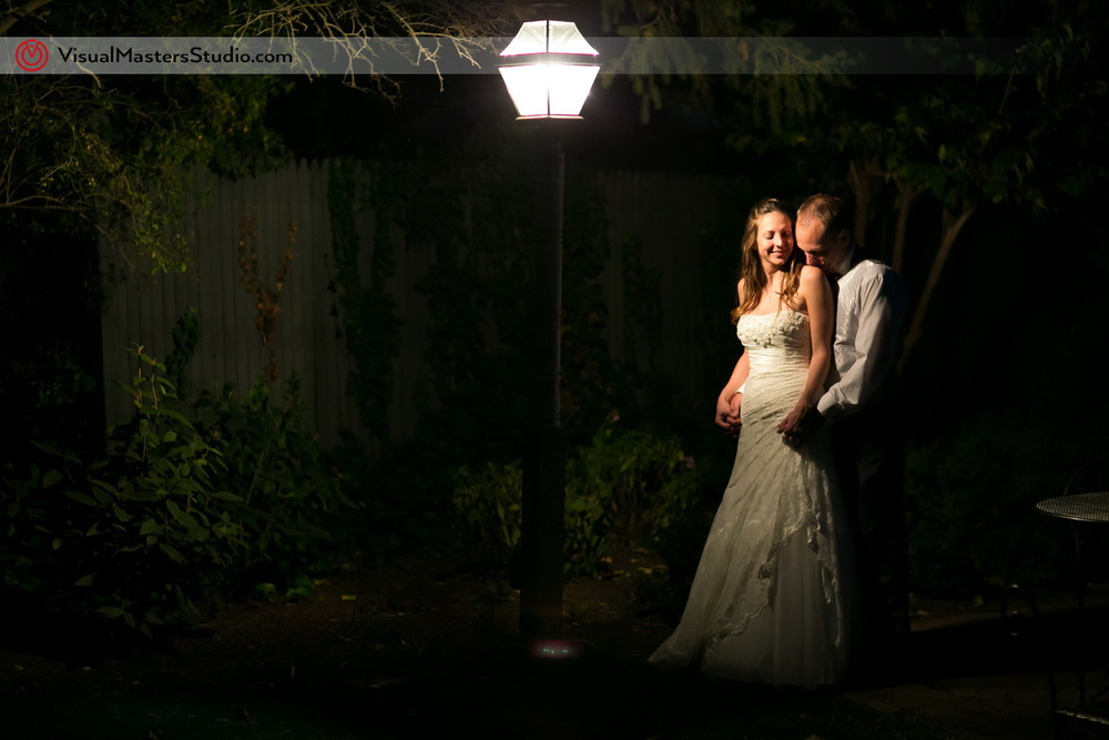 Romantic Bridal Portrait by Visual Masters