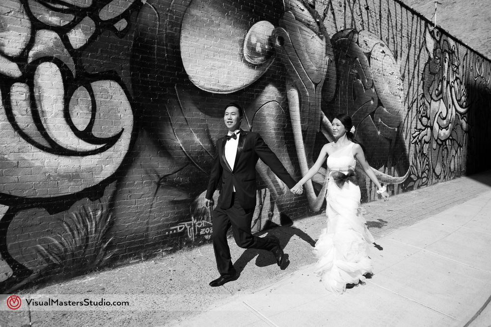 Urban Brooklyn Wedding by Visual Masters
