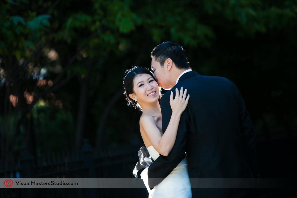 Simple Bridal Portrait by Visual Masters