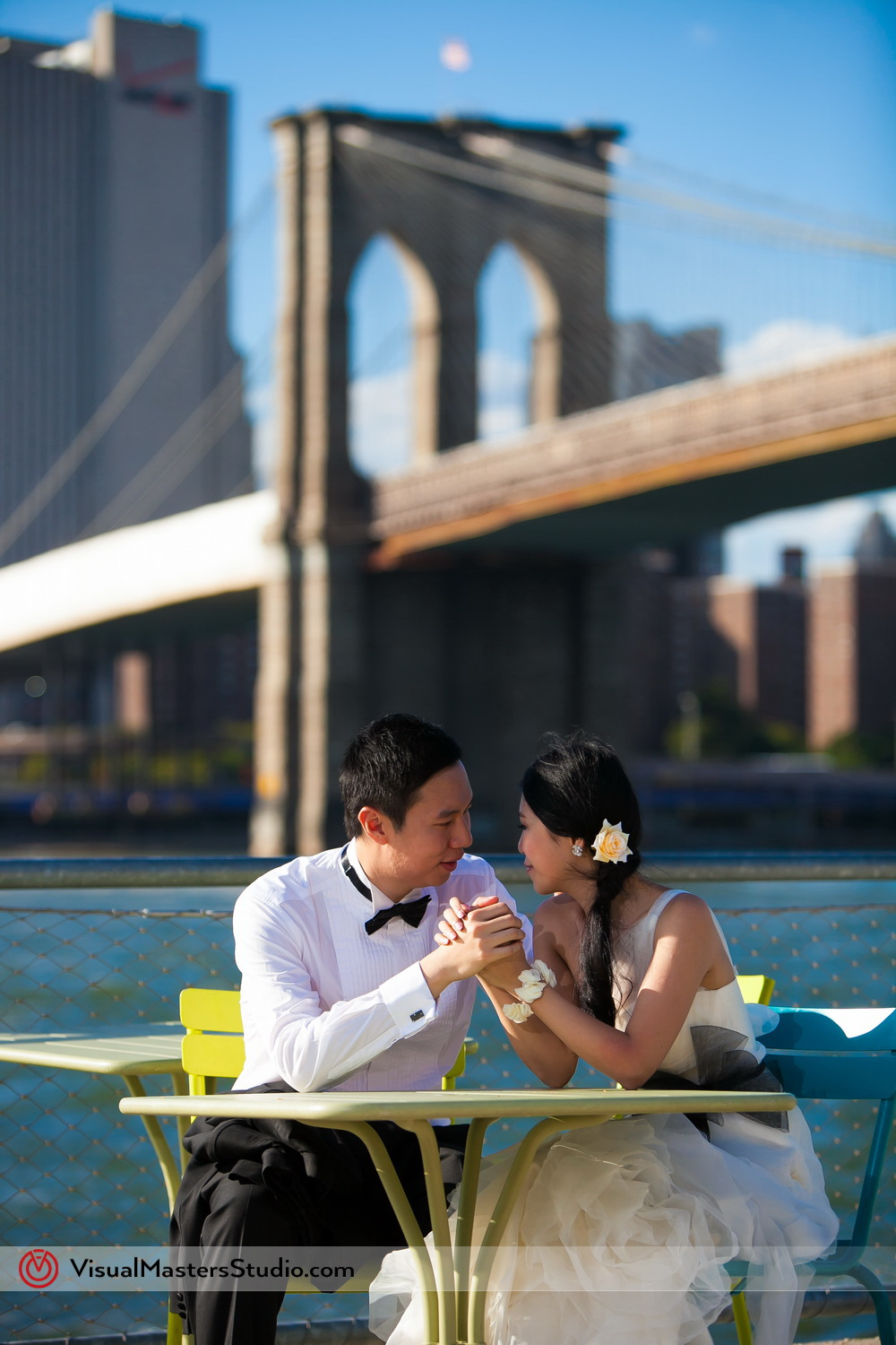 Brooklyn Bridge Bridal Session by Visual Masters
