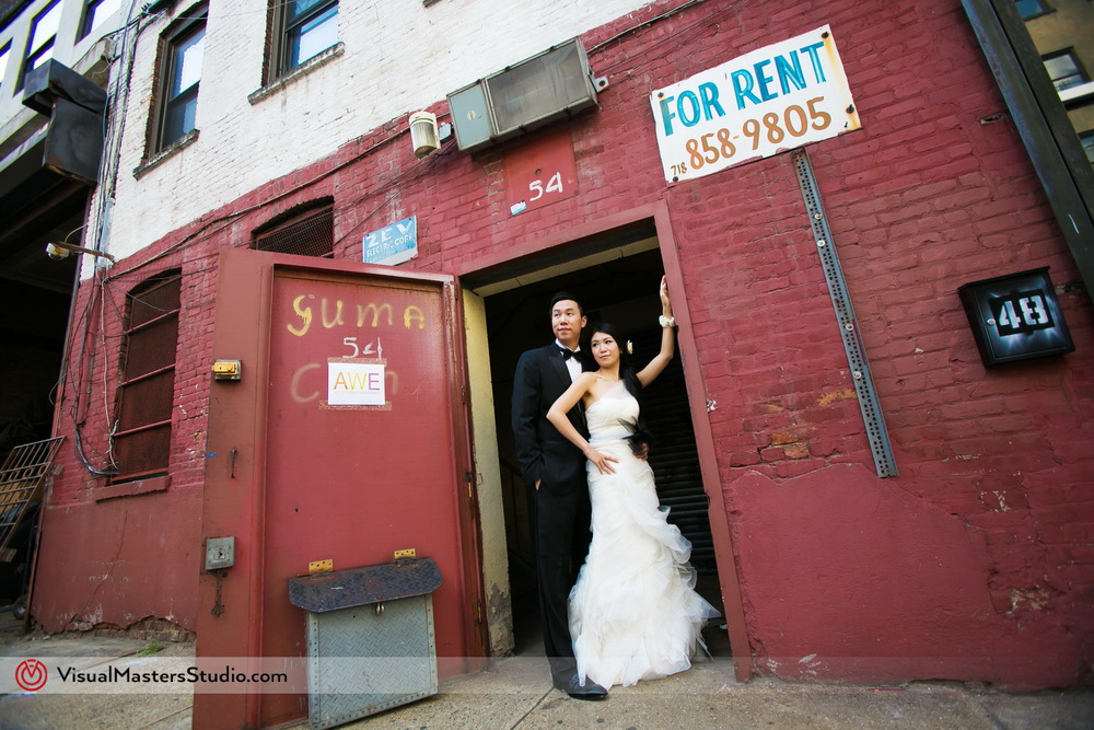 Real New York Bridal Session by Visual Masters
