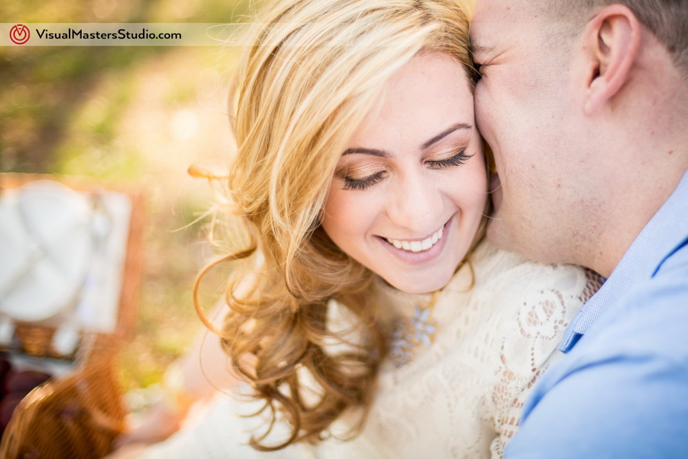 Candid Engagement at Branch Brook Park by Visual Masers