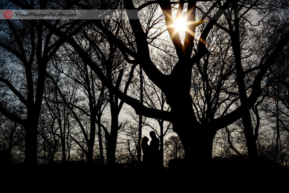 Romantic Engagement Ideas at Branch Brook Park by Visual Masers