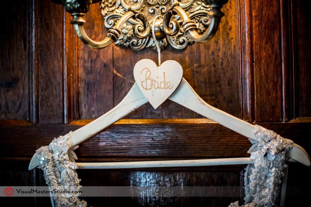 Cute Bridal Hanger by Visual Masters
