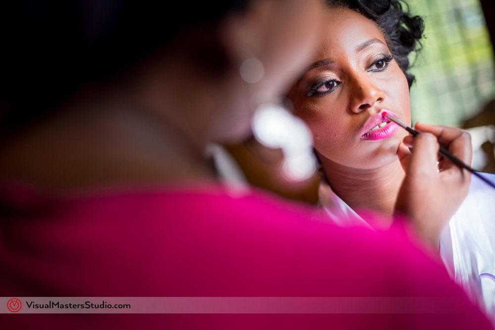 Bridal Makeup by Visual Masters