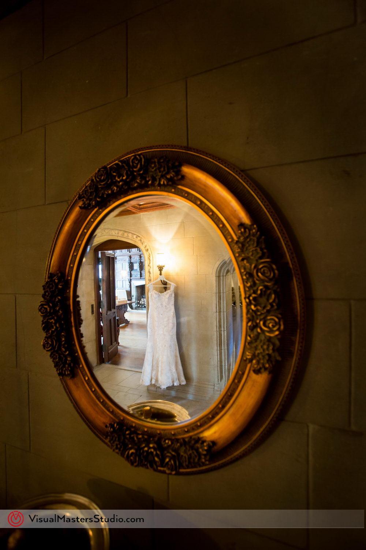 White Weeding Dress at Skylands Manor by Visual Masters