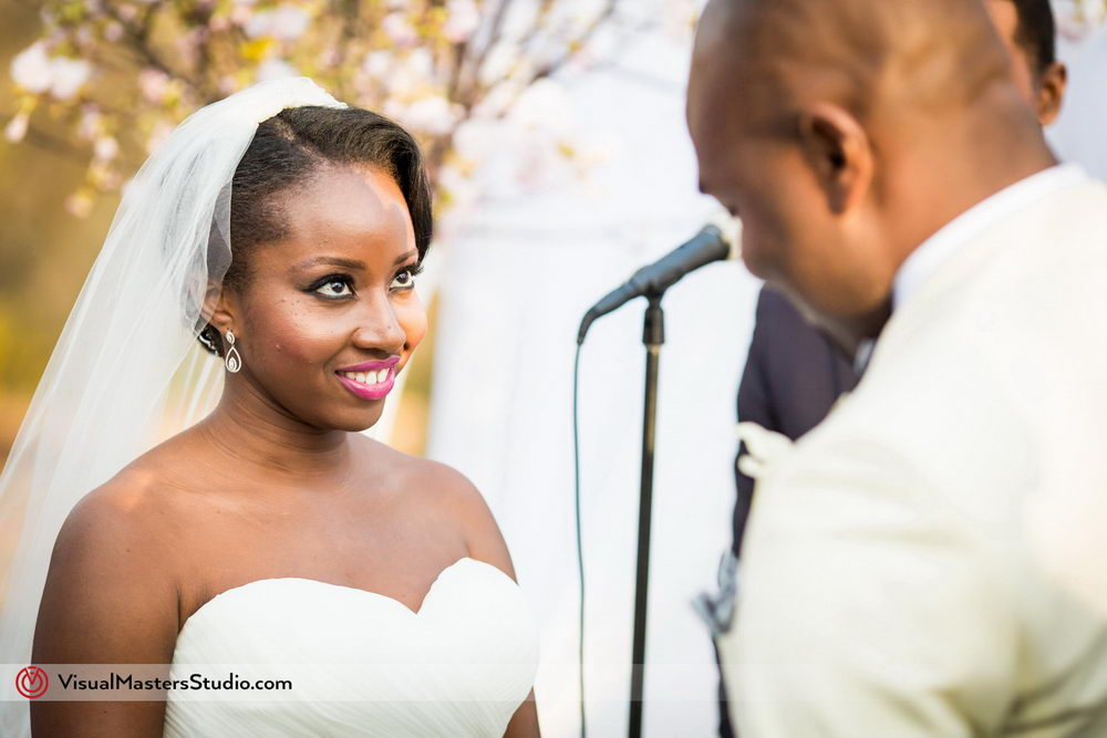 Bride  Exchanging Vows at Skylands Manor by Visual Masters