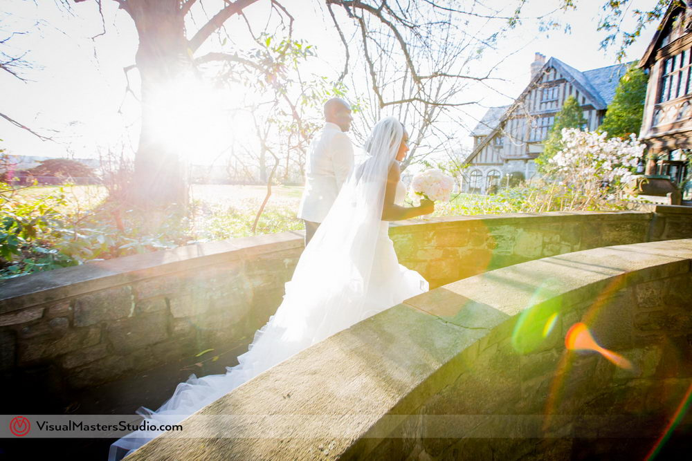 The sunset could not have happened at a better time to create a fantastic natural backdrop for capturing the beginning of the next chapter for the happy couple.