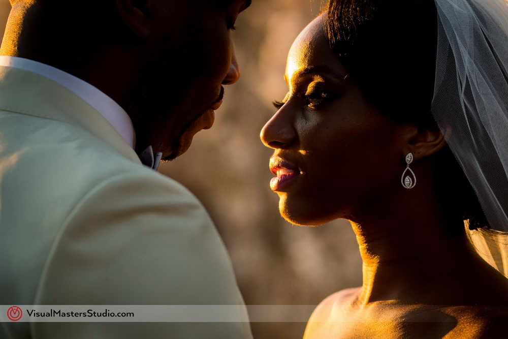 Sunset Bridal Session Inspiration at Skylands Manor by Visual Masters