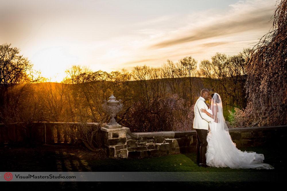 Sunset at Skylands Manor by Visual Master