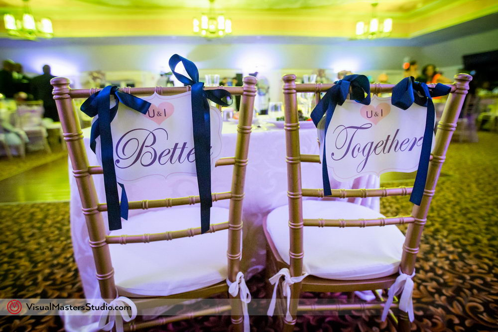 Bridal Chairs Decoration Ideas at Skylands Manor by Visual Masters