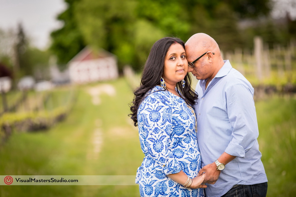 Engagement Session at Paunamok Vineyards by Visual Masters