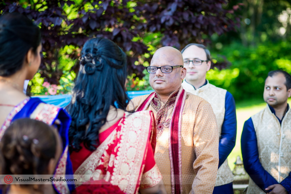 Wedding Ceremony at Mayfair Farms by Visual Masters