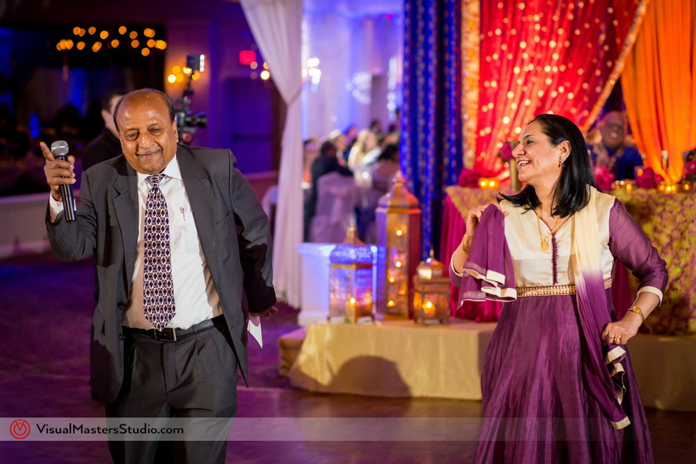 Grooms Parents Performing at Mayfair Farms by Visual Masters