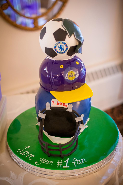 Nigerian National Team Wedding Cake by Visual Masters