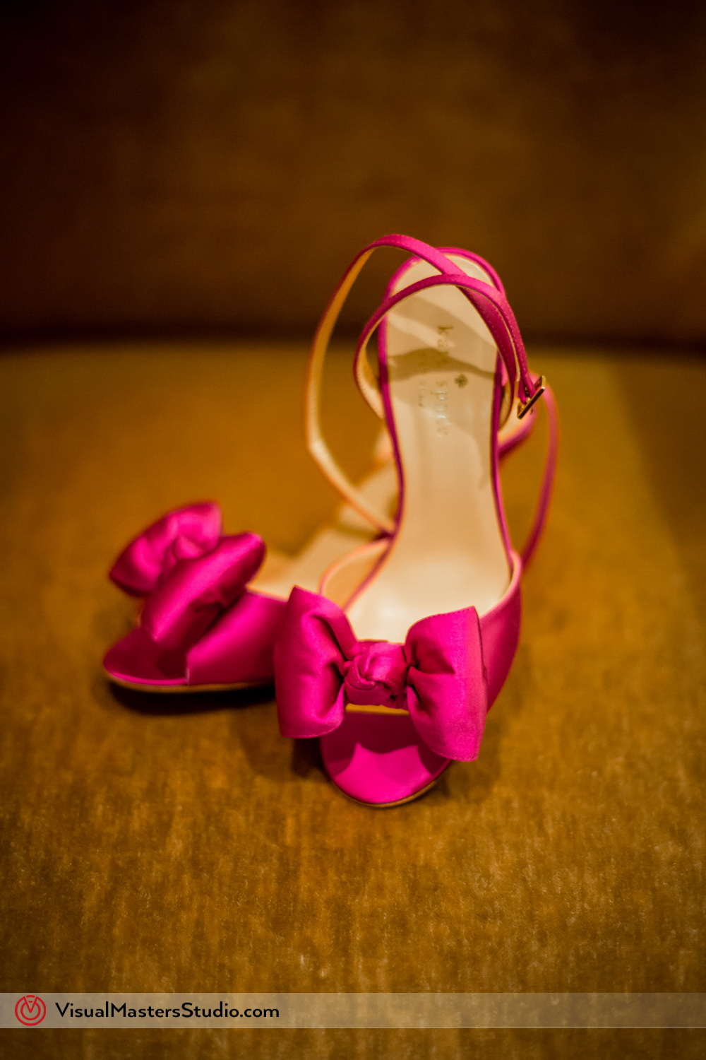 Pink Weddign Shoes by Visual Masters
