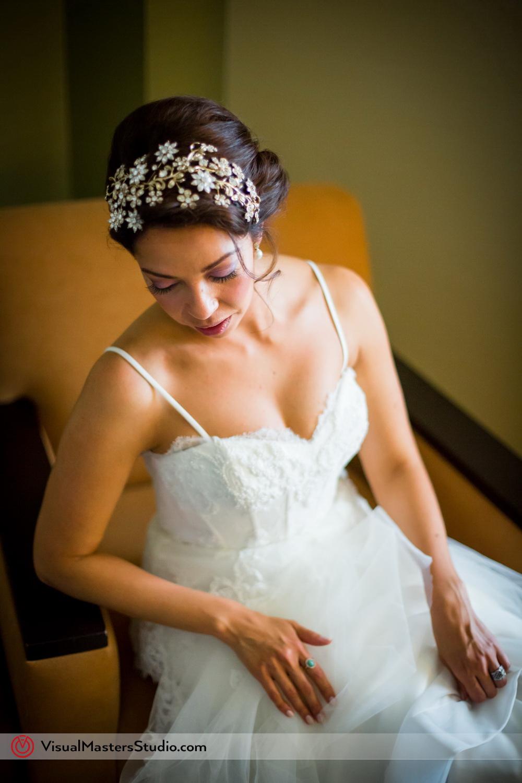 Elaborate Crystal Bridal Crown by Visual Masters