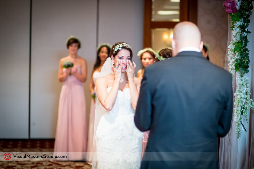 Emotional Bride at Westminister Hotel by Visual Masters