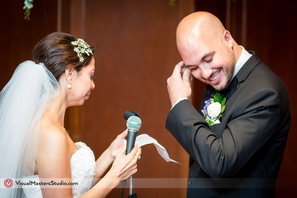 Exchange of Vows at Westminister Hotel by Visual Masters
