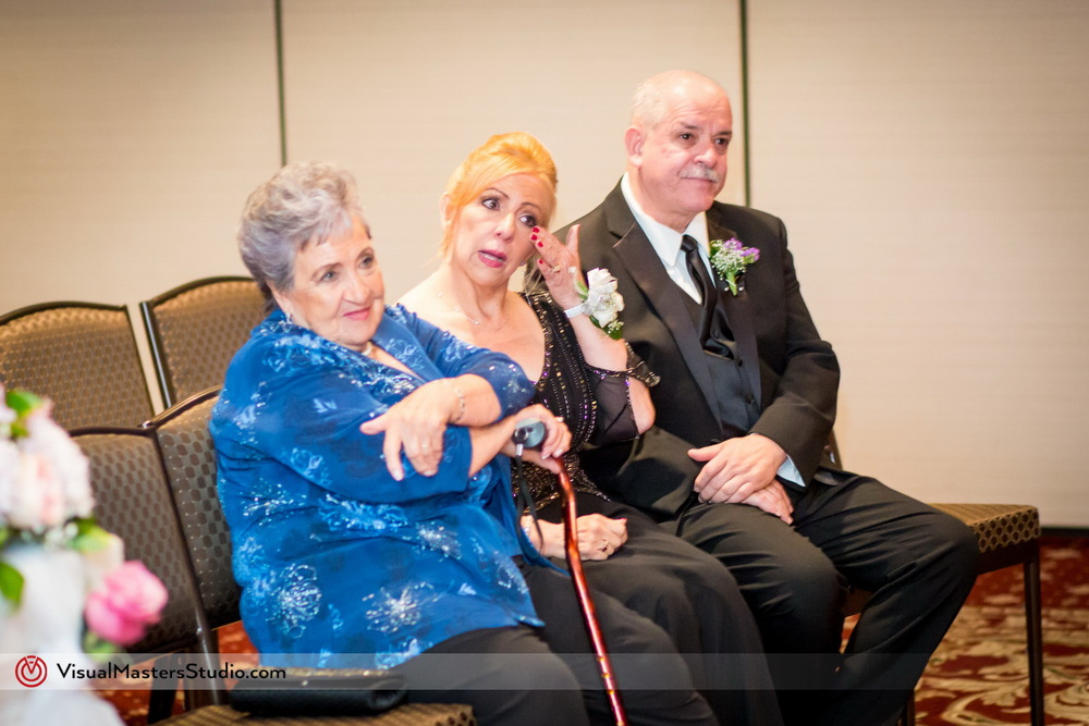 Brides Parents at the Ceremnoy by Visual Masters