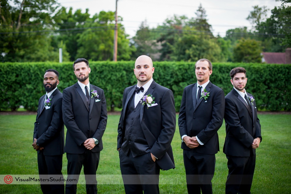 Groomsman Portrait at Westminister Hotel by Visual Masters