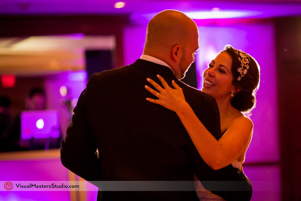 Bride and Groom first Dance by Visual Masters