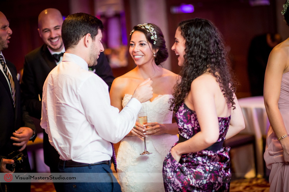 Reception at Westminister Hotel by Visual Masters