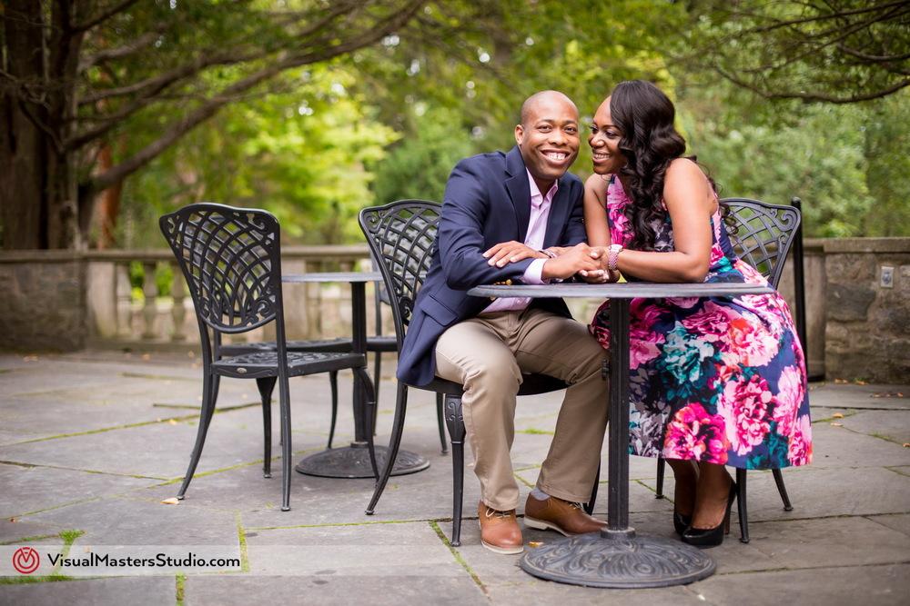 Engagement session at Skylands Manor in Ringwood, NJ
