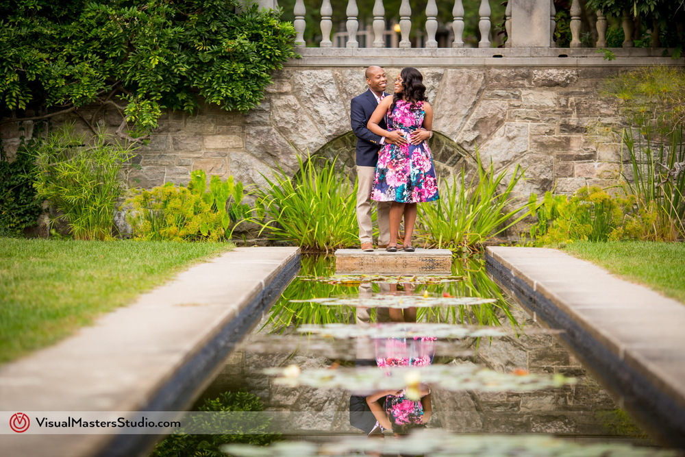 Casually Elegant Engagement Session At New Jersey Botanical Garden Visualmasters Wedding