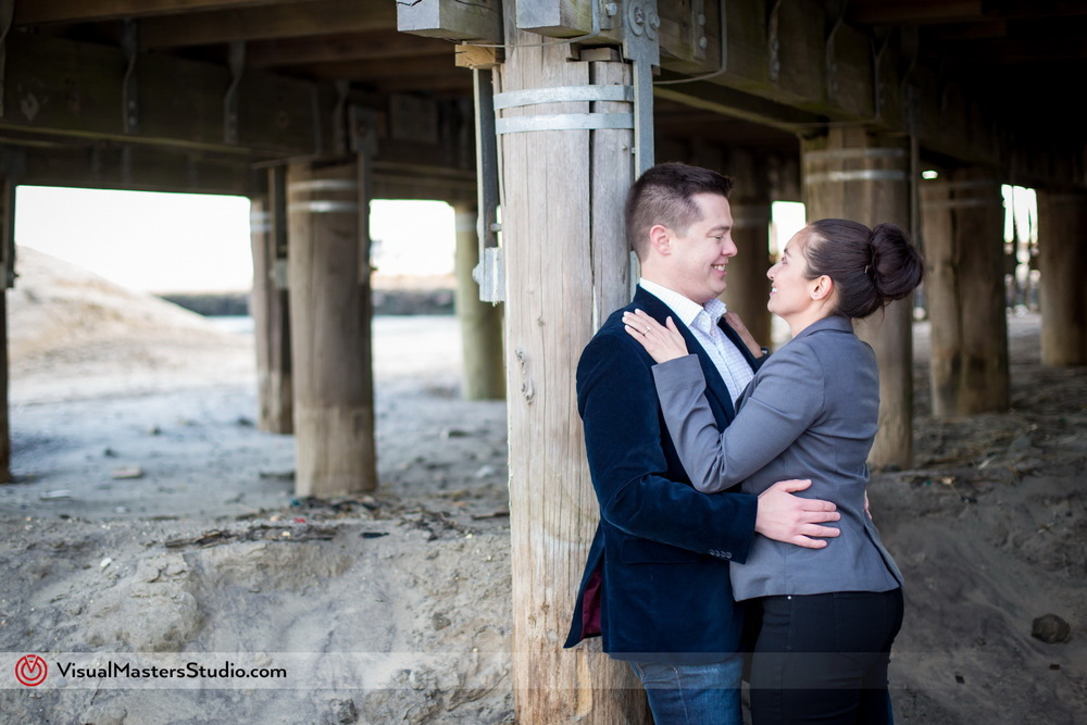 Engagement session in Belmar NJ