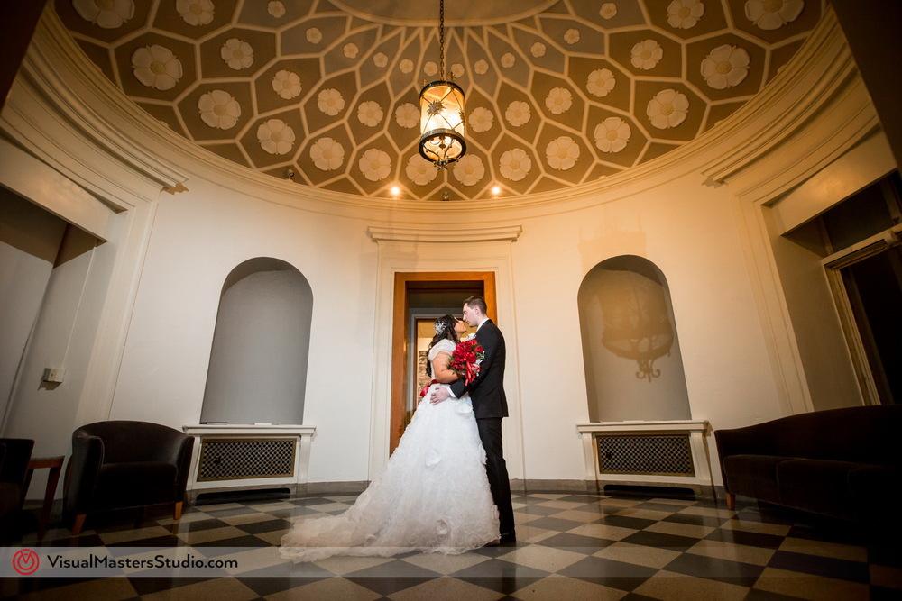 Wedding at Montclair Art Museum