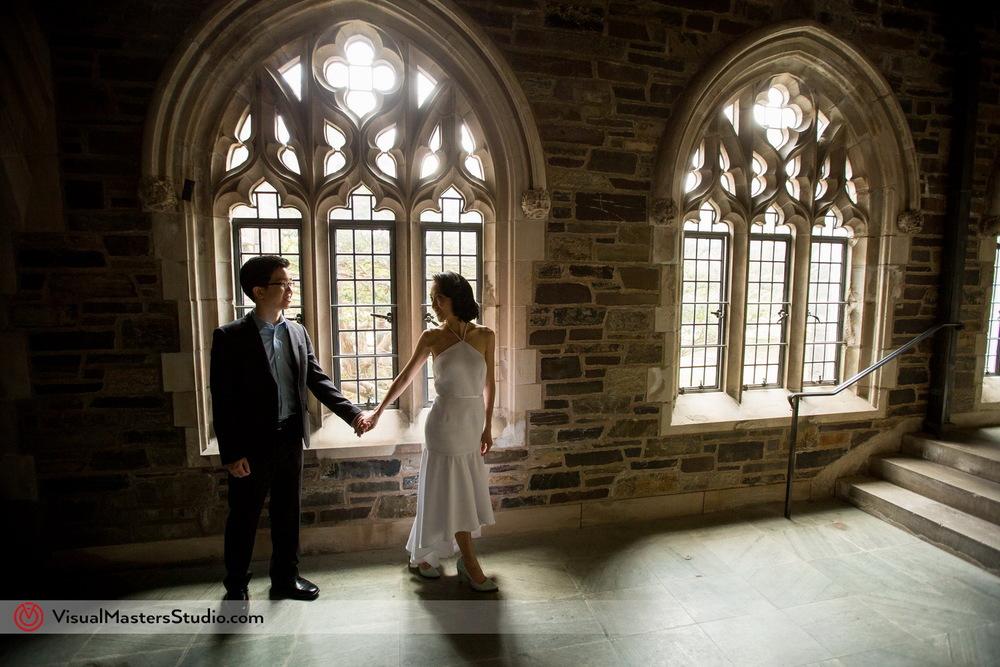 Princeton engagement session