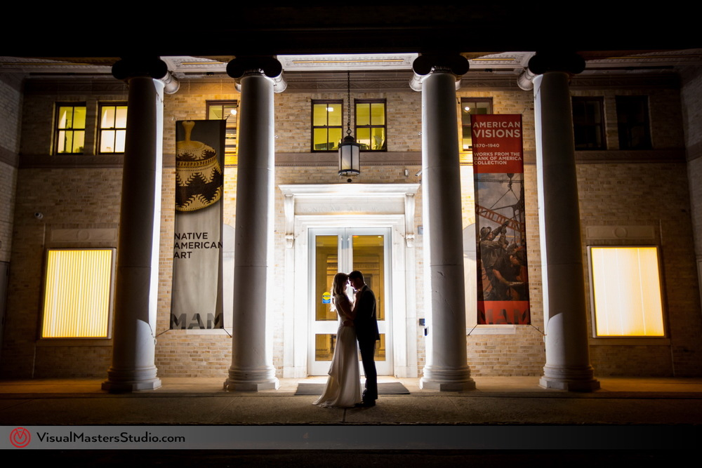Montclair Art Museum wedding