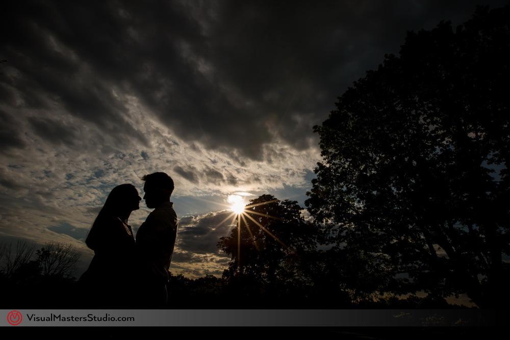 Skylands Manor engagement photography