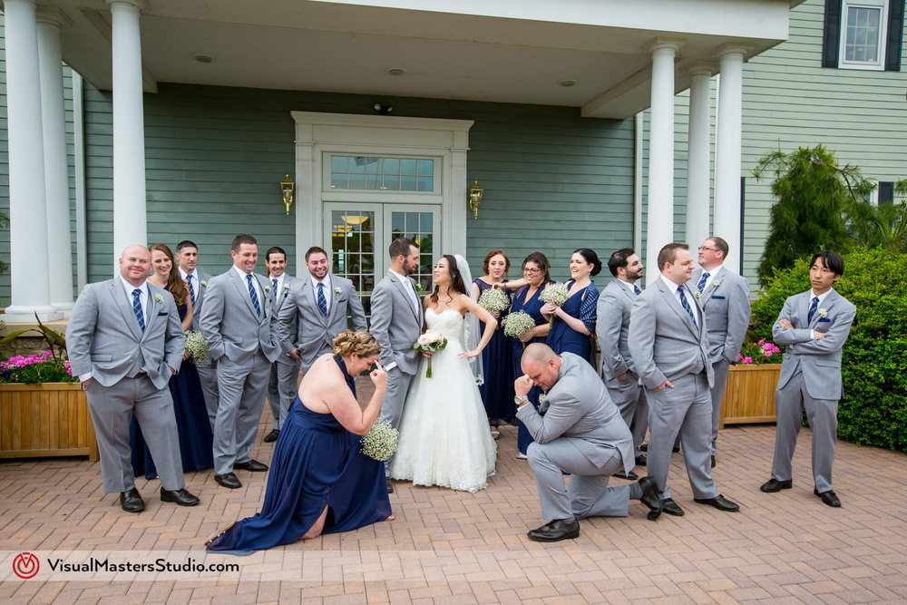 Casual Spring Wedding at Neshanic Valley Golf Course — VisualMasters ...