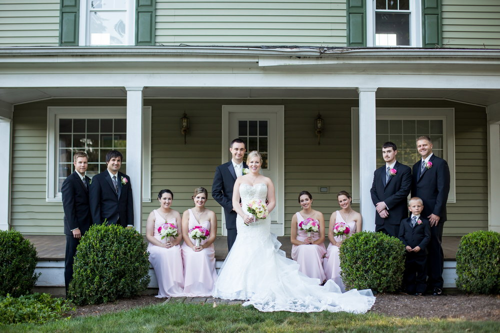 Traditional Bridal Portrait at Basking Ridge Country Club