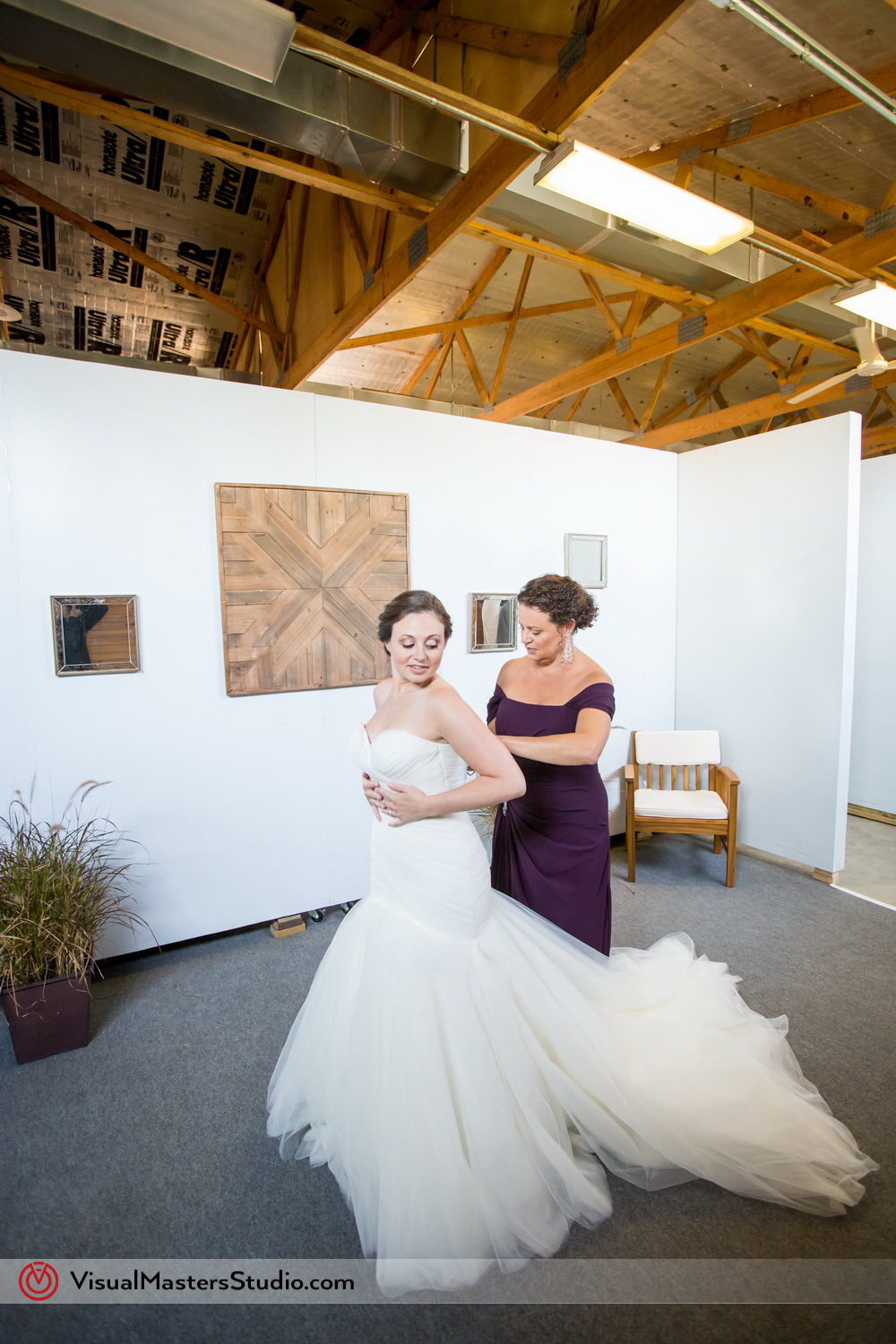 Conservatory at the Sussex County Fairground wedding
