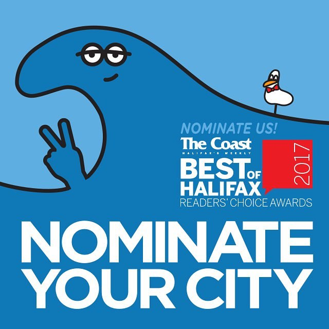 Time to get out the vote Halifax! Best of 2017 @thecoasthalifax is almost here. Nominations are open now until Friday, July 14. The names with the most nominations go on the final ballots (opening August 1) so head over to thecoast.ca and fill in your favourites. Nominate in 30+ categories and you could win $500 cash! #BOH17 #BestofHalifax #best #Halifax #hfx #election #nominations