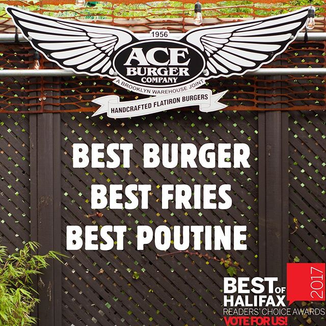 Voting for @thecoasthalifax Best of Awards closes this Friday! For your consideration: We're nominated for Best Burger, Fries & Poutine. Hope we can count on your support again this year! Follow the link in our bio to cast your ballot. 🍔 #BOH17 #BestofHalifax #best #Halifax #downtowndartmouth #BestFries #BestBurger #BestPoutine