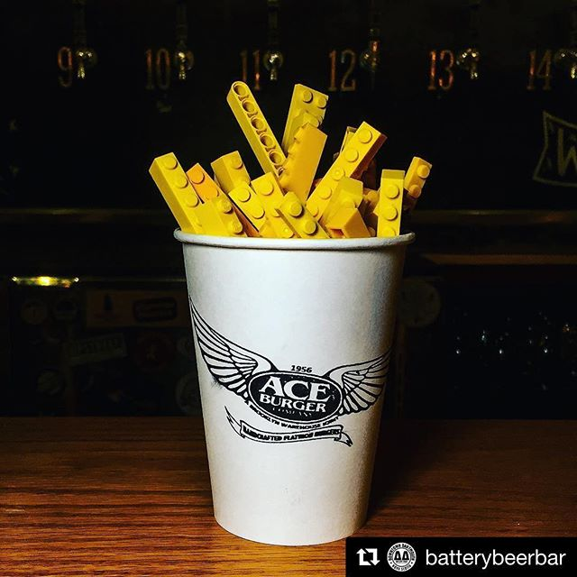 Chase the Ace around the block. #Repost @batterybeerbar First workday of the week got you a little fried? Stop in, relax and satisfy your creative cravings...Monday is Lego Night in Downtown Dartmouth!