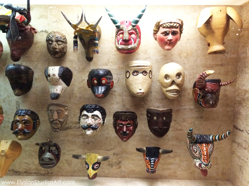 Folk Art Mask Collection from the International Folk Art Museum