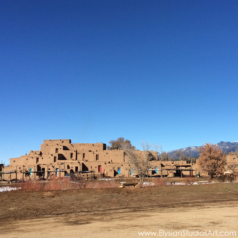Taos Pueblo, a World Heritage Site